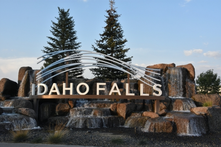 Idaho Falls City Sign