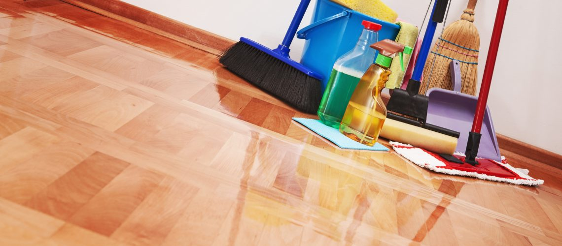 Cleaning supplies for commercial cleaning services